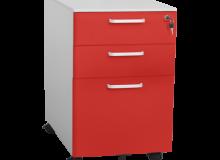 Метален шкаф Carmen CR-1273 L SAND - червен